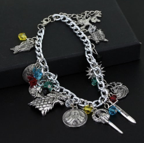 Got houses pendant bracelet vikinglifestore game of thrones got houses pendant bracelet aloadofball Images