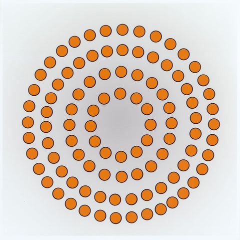 Bubbles Orange (Minimal Series)
