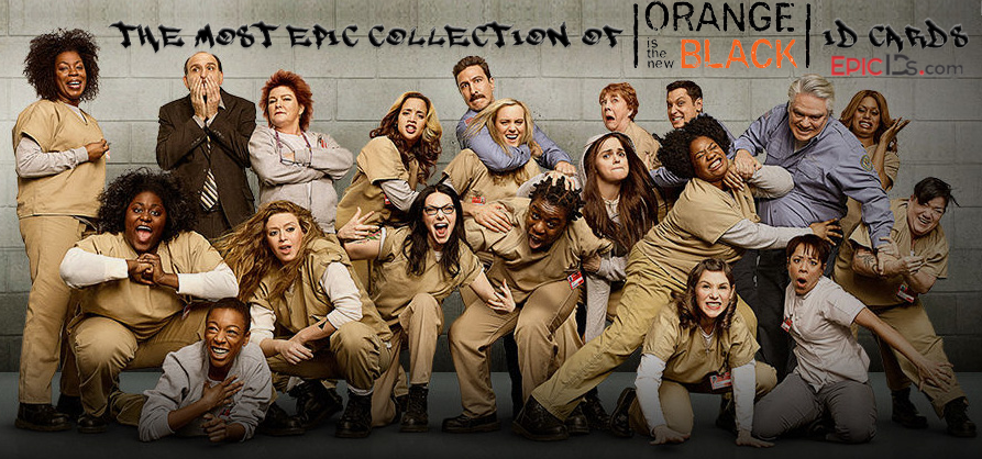 OITNB Orange Is The New Black Cosplay Prop ID Cards - Epic IDs