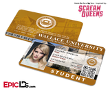 Chanel Oberlin - Scream Queens Student ID Card