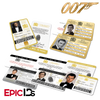 James Bond 007  Inspired Secret Intelligence Service ID (Complete Collection)
