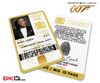 James Bond 007 Inspired (Daniel Craig) Secret Intelligence Service ID