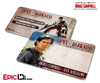 Bruce Campbell Wallet Sized Autograph Cards (Army of Darkness or Burn Notice)