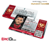 The Hunger Games Inspired Capitol Identification Card - Seneca Crane