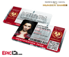 The Hunger Games Inspired Capitol Identification Card - Katniss Everdeen