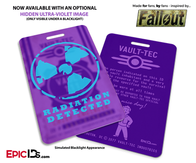 Chief Engineer 'Fallout' Cosplay Vault ID Badge [Personalized]