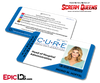 C.U.R.E. 'Scream Queens' Hospital Cosplay Employee ID Name Badge - Ingrid M. Hoffel