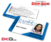 C.U.R.E. 'Scream Queens' Hospital Cosplay Employee ID Name Badge - Zayday Williams