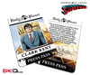 Superman Classic Comic Daily Planet Press Pass Cosplay ID Badge - Clark Kent