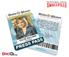 Smallville TV Series Inspired Daily Planet Press Pass - Chloe Sullivan