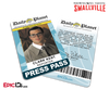 Smallville TV Series Inspired Daily Planet Press Pass - Clark Kent