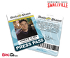 Smallville TV Series Inspired Daily Planet Press Pass - James (Jimmy) Olsen