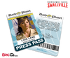 Smallville TV Series Inspired Daily Planet Press Pass - Lois Lane