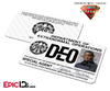 Supergirl TV Series Inspired Department of Extranormal Operations (DEO) Badge [Photo Personalized]