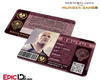 The Hunger Games Inspired Panem District 2 Identification Card - Brutus