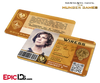 The Hunger Games Inspired Panem District 3 Identification Card - Wiress