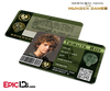 The Hunger Games Inspired Panem District 4 Identification Card - Tribute Boy