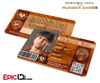 The Hunger Games Inspired Panem District 6 Identification Card - Tribute Boy