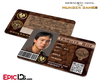 The Hunger Games Inspired Panem District 7 Identification Card - Tribute Boy