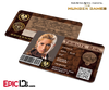 The Hunger Games Inspired Panem District 7 Identification Card - Tribute Girl