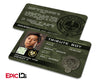 "The Hunger Games Inspired Panem District 9 ""Tribute Boy"" Identification Card"