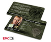 "The Hunger Games Inspired Panem District 9 ""Tribute Girl"" Identification Card"