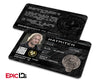 "The Hunger Games Inspired Panem District 12 ""Haymitch"" Identification Card"