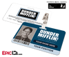 The Office Inspired - Dunder Mifflin Employee ID Badge [Photo Personalized]