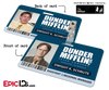 The Office Inspired - Dunder Mifflin Employee ID Badge - Dwight/Jim 'Identity Theft' Reversible Duo Card