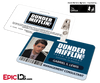 The Office Inspired - Dunder Mifflin Employee ID Badge - Gabriel Lewis