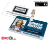 The Office Inspired - Dunder Mifflin Employee ID Badge - Holly Flax