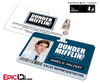 The Office Inspired - Dunder Mifflin Employee ID Badge - Jim Halpert