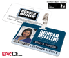 The Office Inspired - Dunder Mifflin Employee ID Badge - Kelly Kapoor
