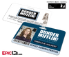 The Office Inspired - Dunder Mifflin Employee ID Badge - Pam Halpert (Office Admin)