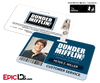 The Office Inspired - Dunder Mifflin Employee ID Badge - Peter Miller