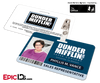 The Office Inspired - Dunder Mifflin Employee ID Badge - Phyllis Vance