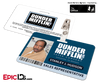 The Office Inspired - Dunder Mifflin Employee ID Badge - Stanley Hudson