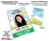 Daycare / Child Care Employee Photo ID Name Badge