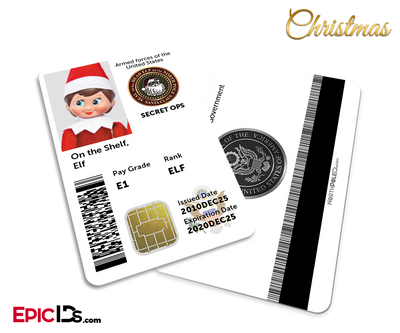 Secret Ops / US Military Santa's Elf ID