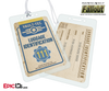 Vault Dweller/Wasteland Explorer 'Fallout' Personalized Luggage ID Tag