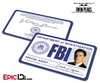Special Agent 'Twin Peaks' FBI Cosplay ID Card - Dale Cooper