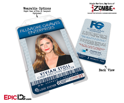 Fillmore Graves Enterprises 'iZombie' Cosplay Employee ID [TV Characters]