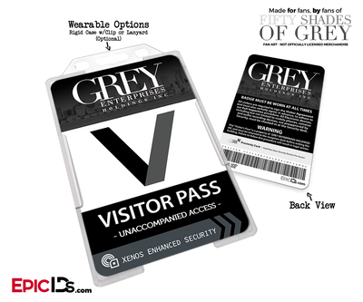 Grey Enterprises 'Fifty Shades Of Grey' Cosplay Visitor Pass