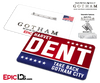 "Gotham Inspired ""Harvey Dent"" Campaign Badge"