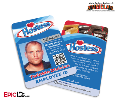 Hostess 'Tallahassee' Zombieland Cosplay Employee ID