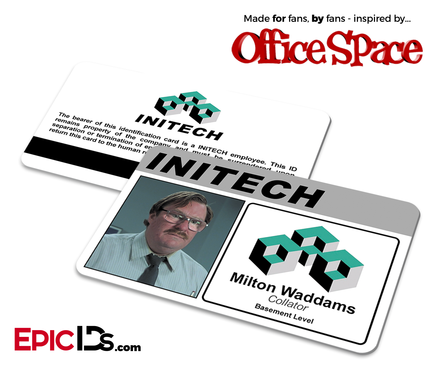 office space names. Simple Space Office Space Inspired Initech Employee ID  Name Badge  Milton Waddams Inside Names