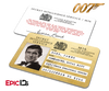 James Bond 007  Inspired (George Lazenby) Secret Intelligence Service ID