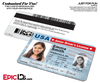Novelty Junior Driver's License, Class: K - For Kids  [Photo Personalized]