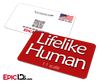 'Lifelike Human 1:1 scale' Wearable Name Badge