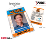 Max Rager 'iZombie' Cosplay Employee ID Name Badge [TV Characters]